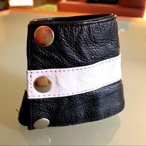 Accessories - Men's Leather Wrist Cuff/Wallet